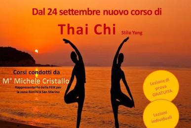 Nuovo corso di tai chi nella palestra Tiberio Wellness di Rimini