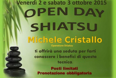 Open Day Shiatsu Palestra Tiberio Wellness